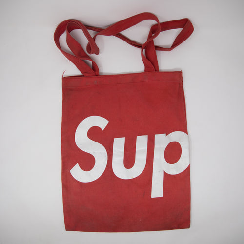 Supreme Tote Bag Red (USED)