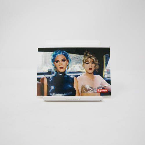 Supreme x Nan Goldin Misty and Jimmy Paulette Sticker (MINT)
