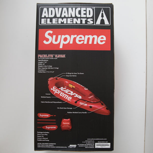 Supreme Advanced Elements Packlite Kayak Red (NEW)