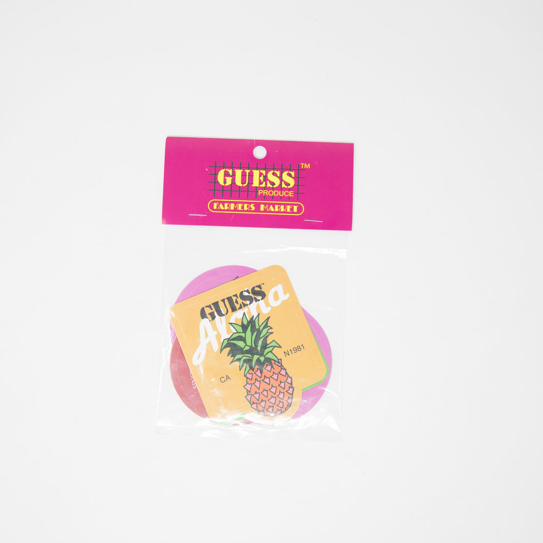 Sean Wotherspoon x Guess Farmers Market Stickers Pack (NEW)