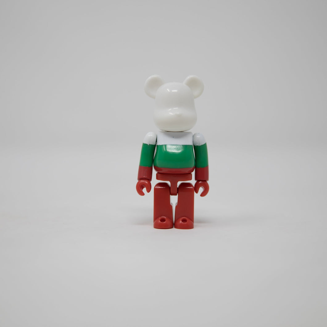 Medicom Toy BEARBRICK Bulgaria - Flag Series 36 100% Figure (MINT)