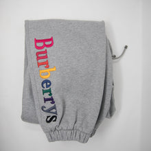 Burberry Rainbow Embroidered Sweatpants (Small / MINT)