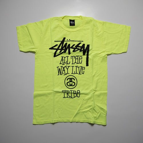 Stussy All The Way Live Tee Volt (Multiple Sizes / NEW)