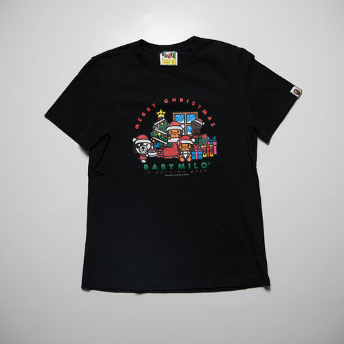 Bape Baby Milo Merry Christmas Tee Ladies (Small / USED)