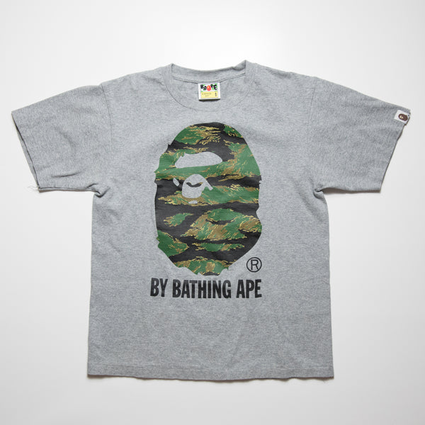 Bape Snake Camo Tee (Small / USED)