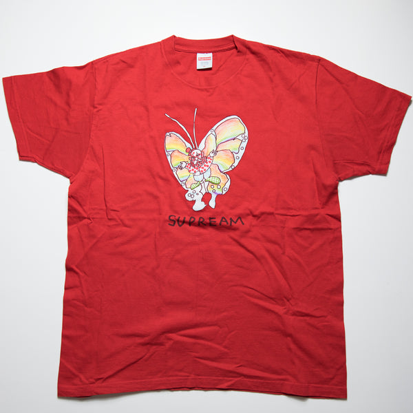 Supreme Gonz Butterfly Tee Red (XL / USED)