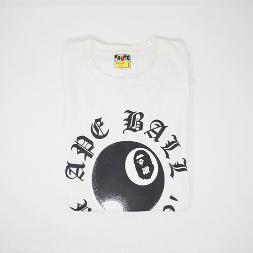 Bape x Undefeated 8 Ball Tee (Large / USED)