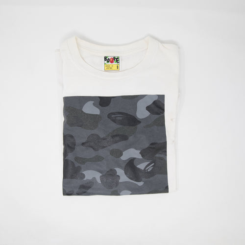 Bape Black Camo Box Tee (Small / USED)