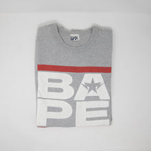 Bape Logo Tee Grey (Large / USED)