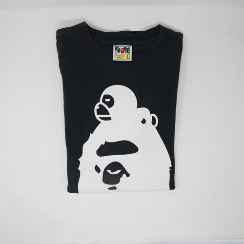 Bape Baby Milo On Ape Head Tee (Large / USED)