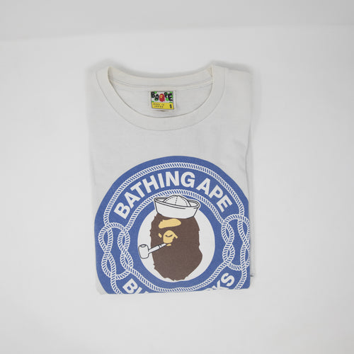 Bape Sailor Busy Works Tee (Small / USED)