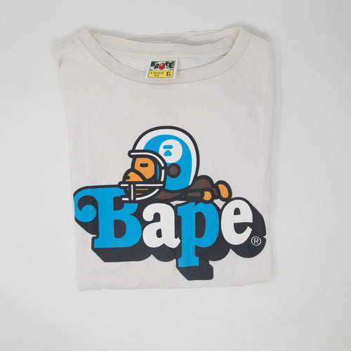 Bape Baby Milo on Bape Tee (XL / USED)