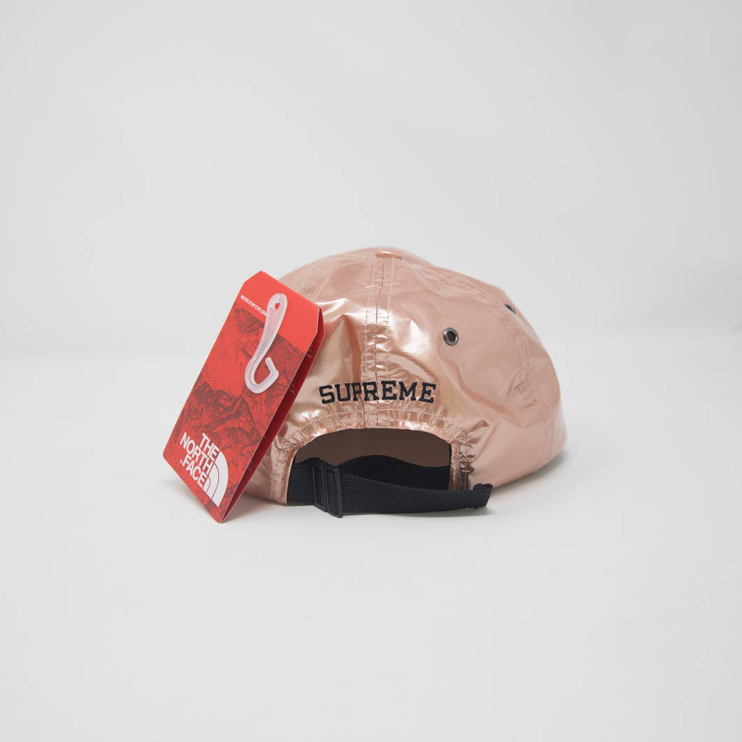 b538a9d4e2b Supreme x The North Face Metallic Camp Cap Rose Gold (NEW) – Famous ...