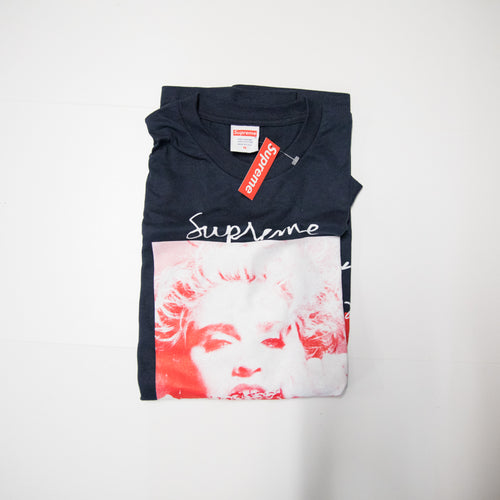 Supreme Madonna Tee Navy (Medium / NEW)