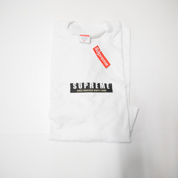 Supreme 1994 L/S Tee (Medium / NEW)