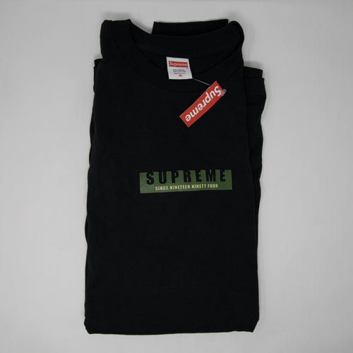 Supreme 1994 L/S Tee Black (XL / NEW)