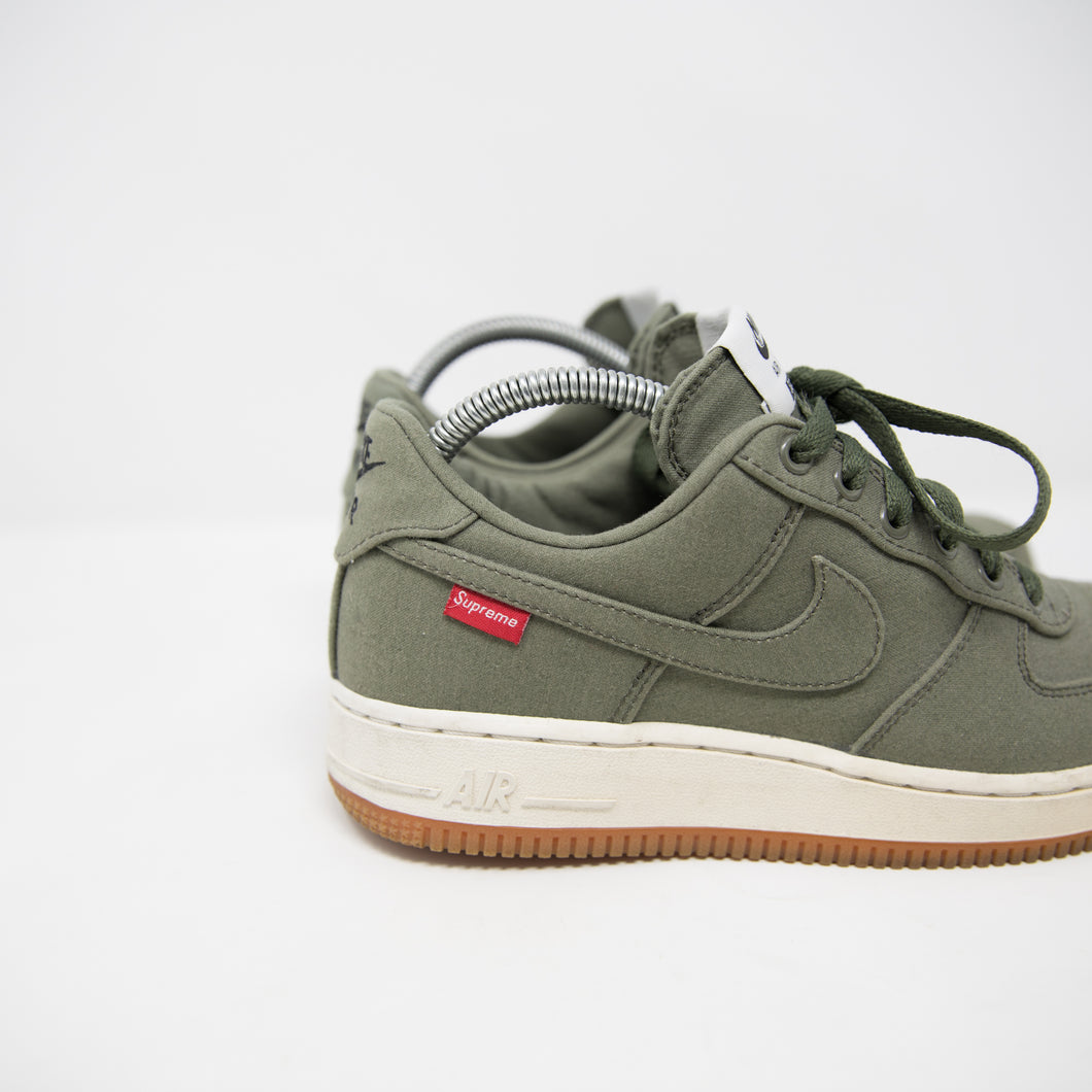281d502e68b3 Supreme x Nike Air Force 1 Low Olive (UK6   USED) – Famous Grail