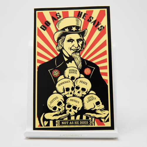 Obey Do As He Say Sticker (MINT)