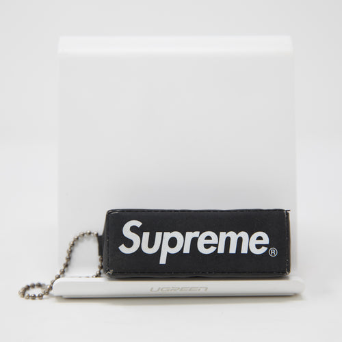 Supreme Reflective Puffy Keychain Black (USED)