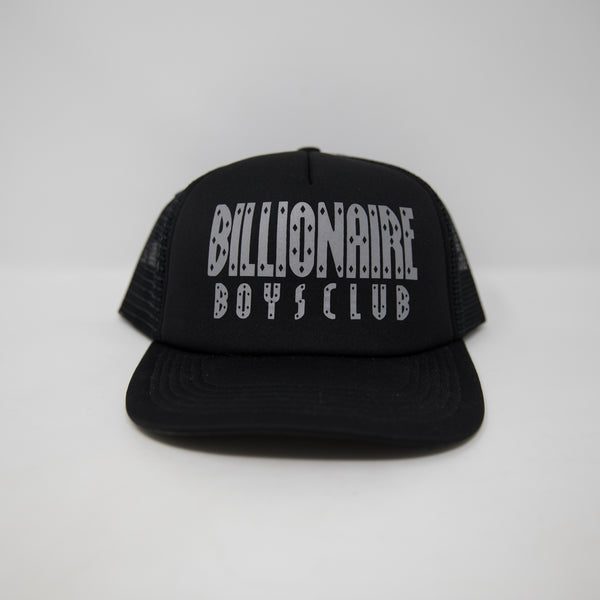 Billionaire Boys Club Reflective Logo Trucker Cap (USED)