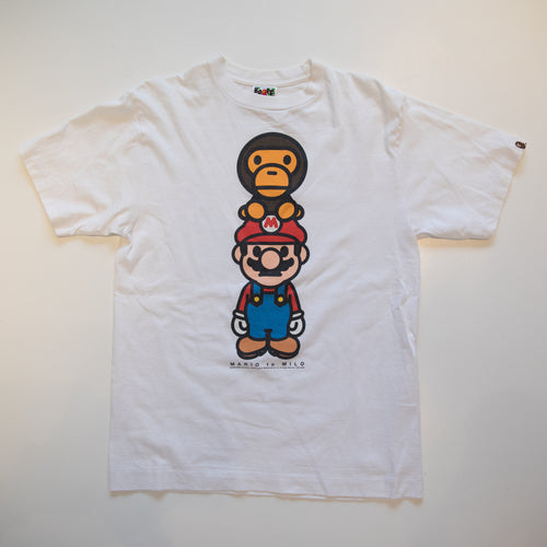 Bape x Nintendo Super Mario Baby Milo Tee (Medium / USED)