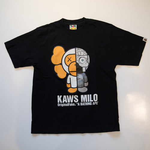 Bape x OriginalFake Kaws Companion Milo Tee (Medium / USED)