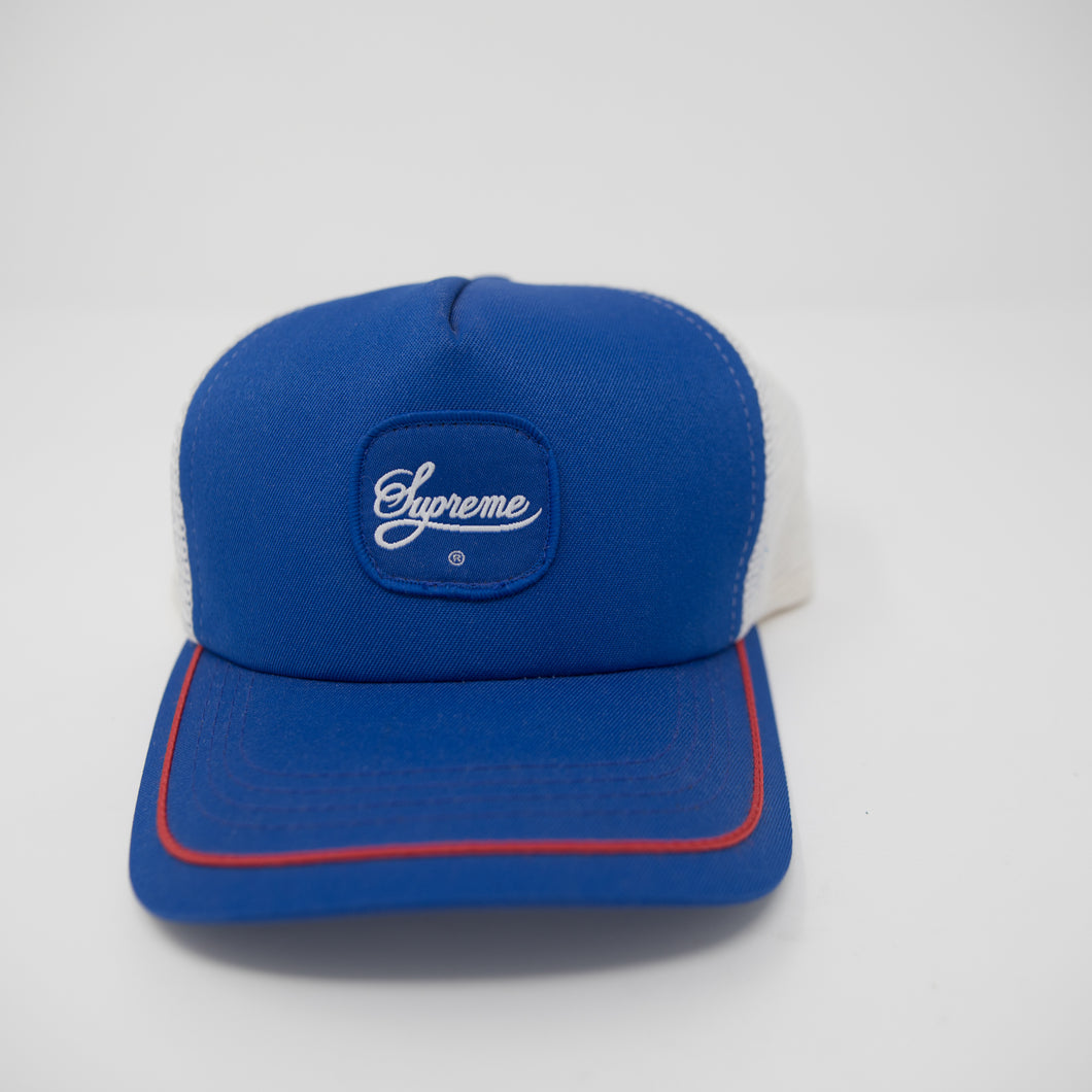 Supreme Sutash Mesh Cap Blue (USED)