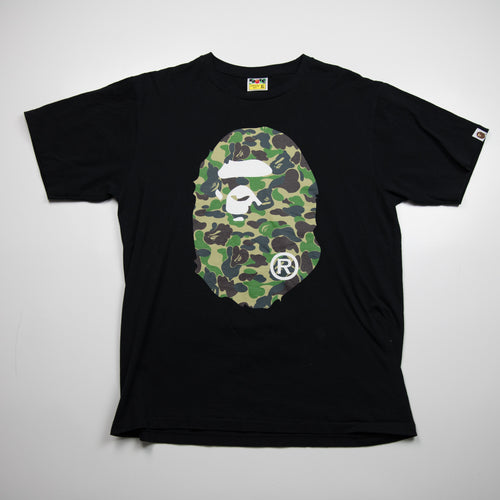 Bape Green Camo Ape Head (XL / USED)