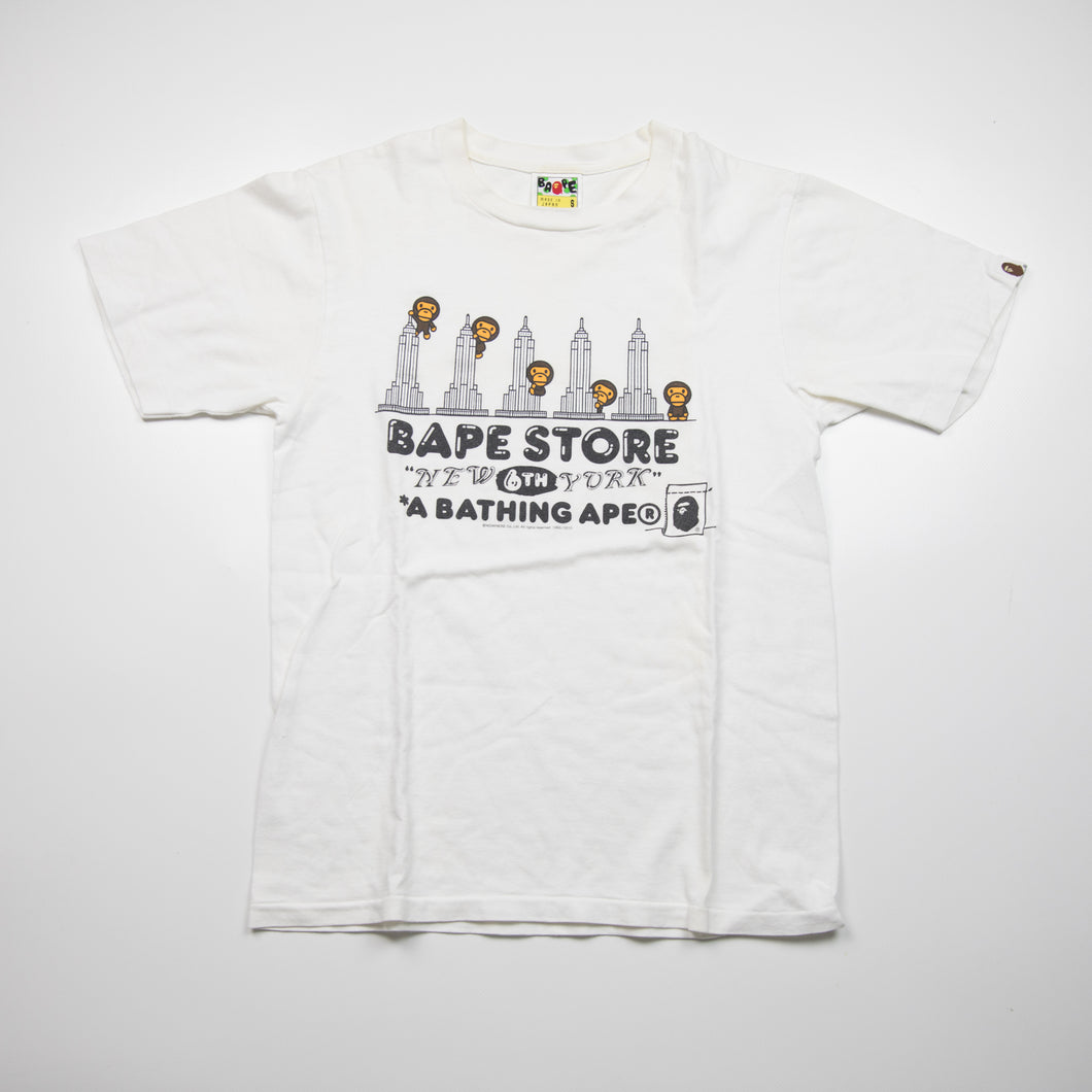 Bape New York 6th Anniversary Tee (Small / USED)