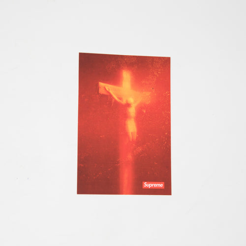 Supreme x Andres Serrano Piss Christ Sticker (MINT)