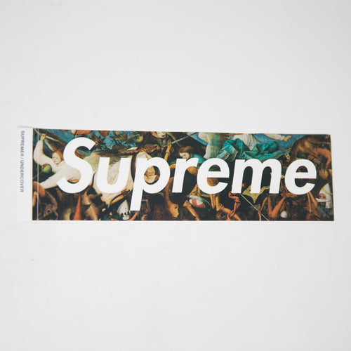 Supreme x Undercover Fall of The Rebel Angels Box Logo Sticker (MINT)