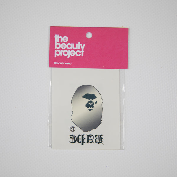 Bape Ape Head Temp Tattoo Sticker (NEW)