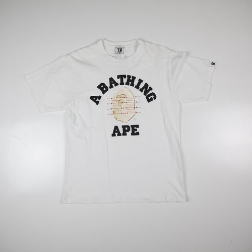 Bape x Pusha T 10 Year NYC College Tee (Medium / USED)