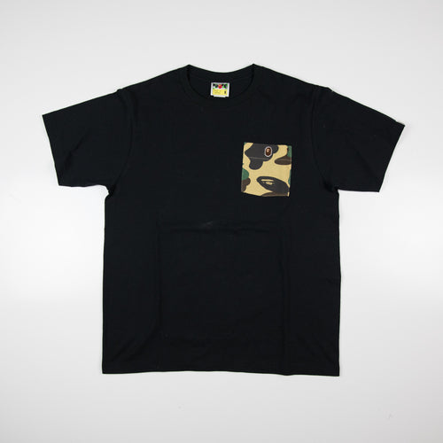 Bape Camo Pocket Tee (Medium / USED)