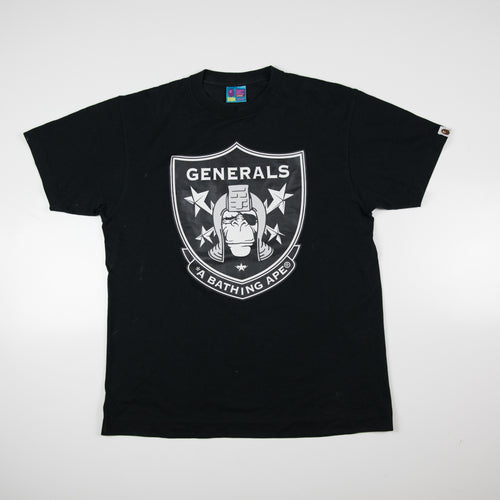 Bape Generals Busy Works Tee (Large / USED)
