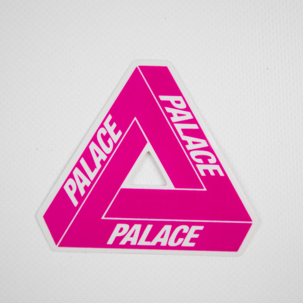 Palace Pink Tri-Ferg Sticker (MINT)