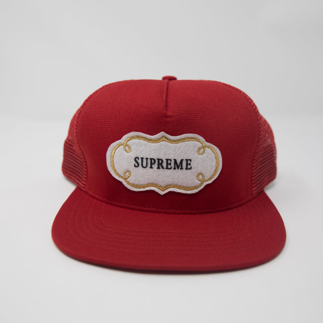 Supreme Starter Fairway Mesh Cap Red (USED)