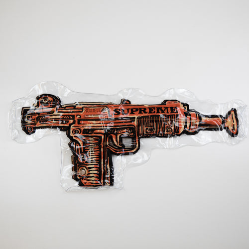 Supreme Toy Uzi Inflatable Pillow Orange (NEW)
