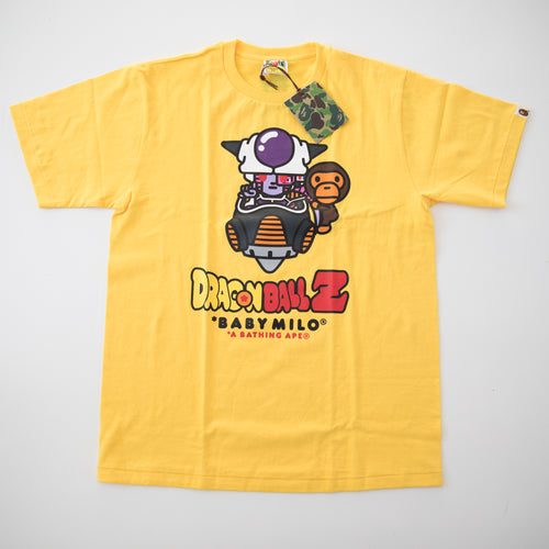 Bape x Dragon Ball Z Frieza Tee Yellow (Large / NEW)
