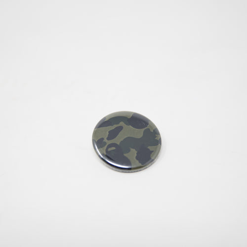 Bape Green Camo Pin (NEW)