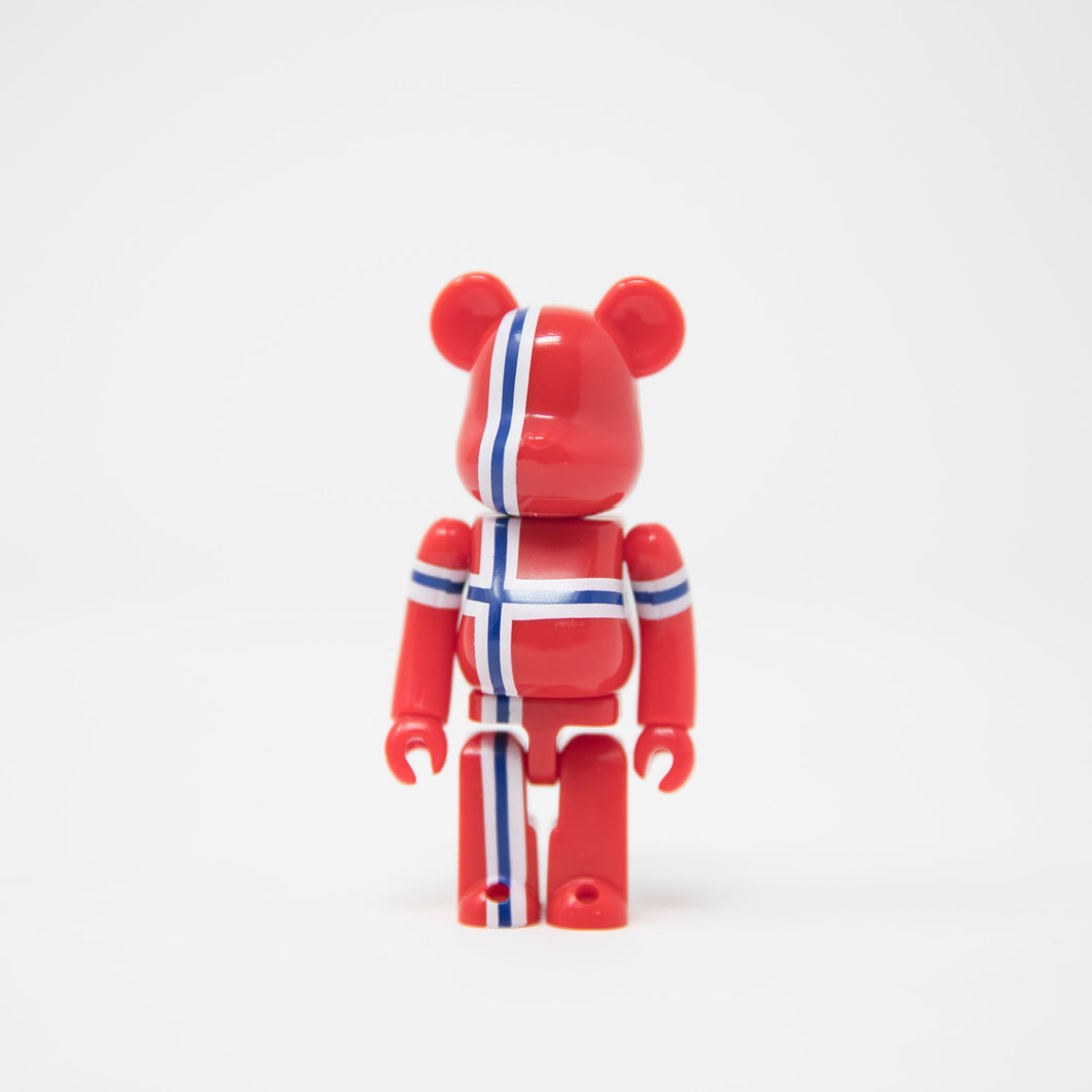 Medicom Toy BEARBRICK Norway - Flag Series 29 100% Figure (MINT)