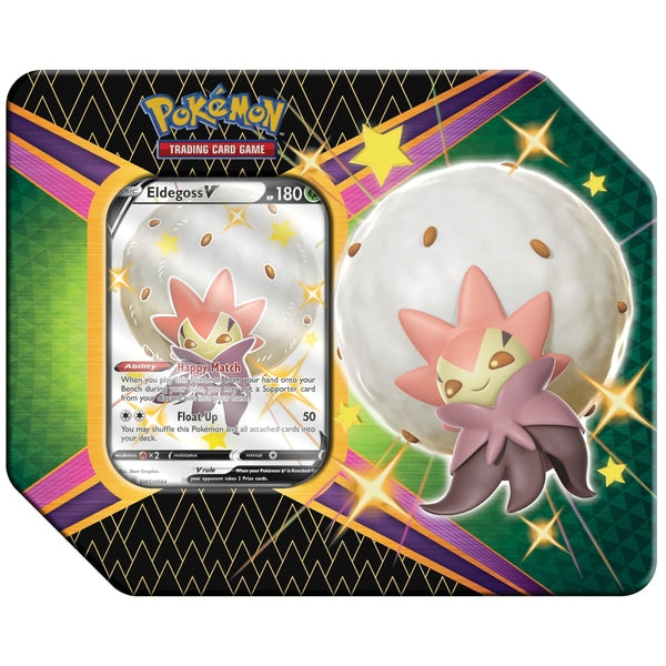 Pokemon - Shining Fates Tin - Eldegoss V (NEW)