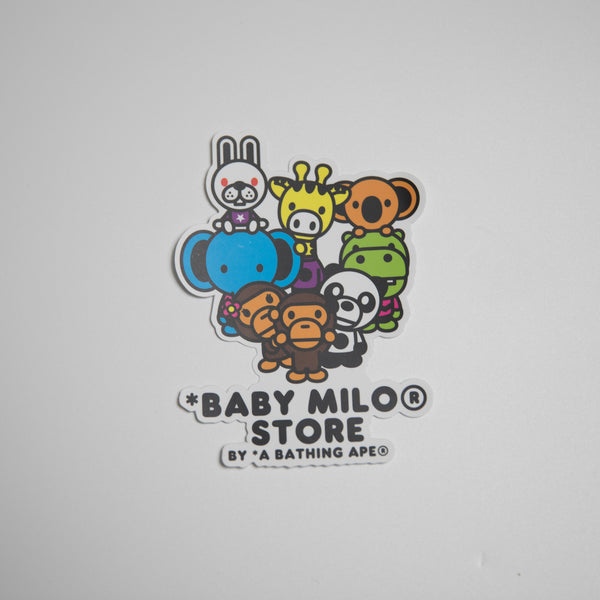 Bape Baby Milo Safari Sticker (MINT)