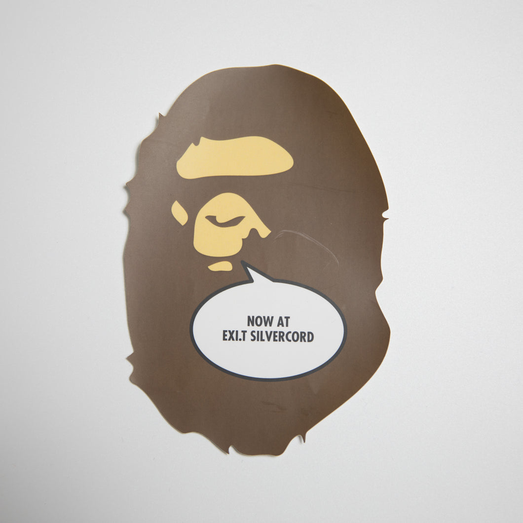 Bape Ape Head EXI.T Sticker (MINT)