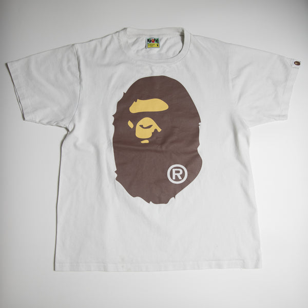 Bape Ape Head Tee (Medium / USED)