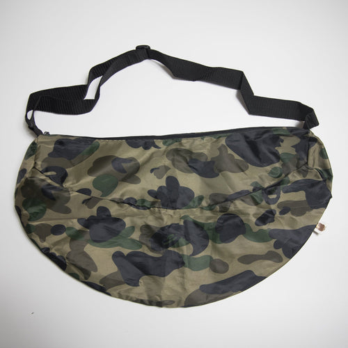 Bape Green Camo Shoulder Bag (New)