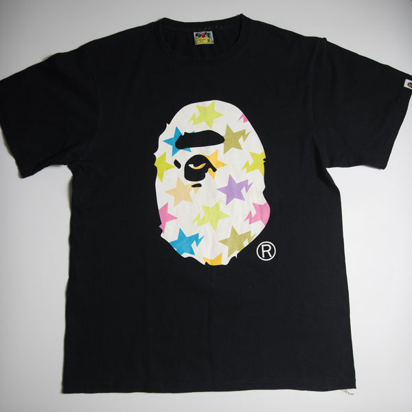 Bape Bapesta Ape Head Tee (XL / USED)