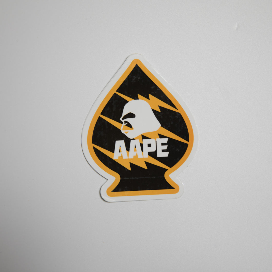 Aape Ace Of Spades Sticker (MINT)