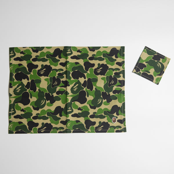 Bape Green Camo Placemat & Coaster (MINT)
