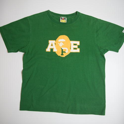 Bape Logo Ape Head Tee (Medium / USED)